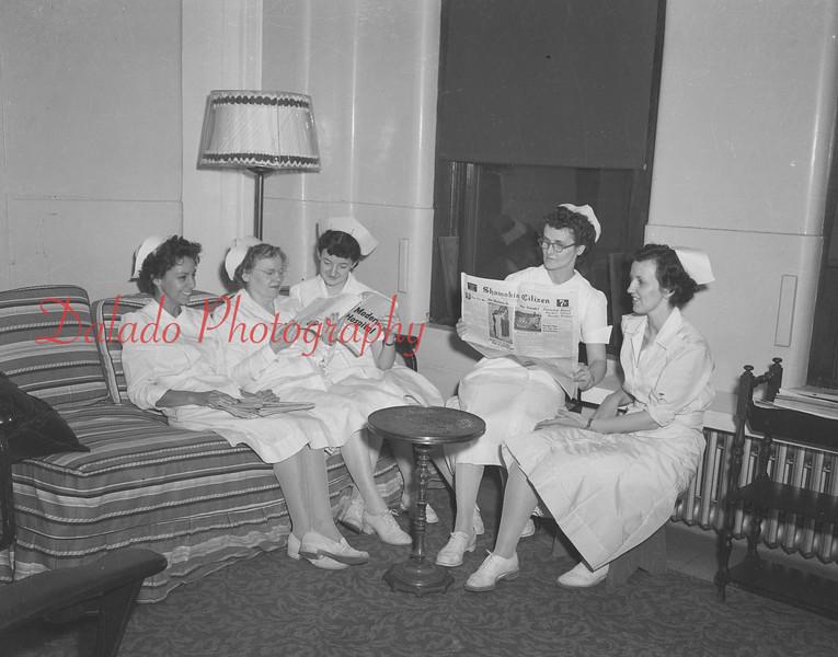 Nurses, unknown.