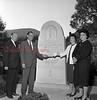 (1964) JFK monument dedication.