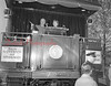 (10.22.1952) President Harry Truman introduces his daughter, Margaret, at a whistle-stop address at Northumberland while campaigning for Adlai Stevenson, democratic nominee for president, and John Sparkman, vice president.