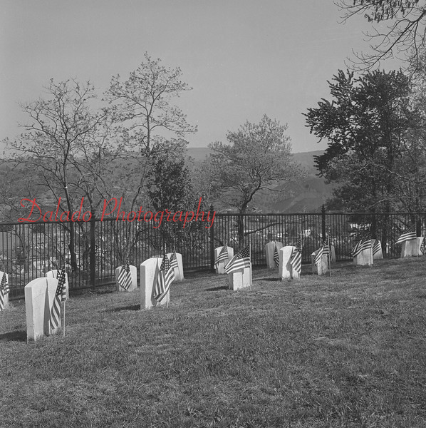 Soldiers Circle at Shamokin Cemetery.