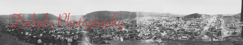"(1908) Here is a very large photo of Shamokin and Coal Township in 1908. The photo was take from Third Street in Shamokin, looking north. The ""Rassy"" is to your right."