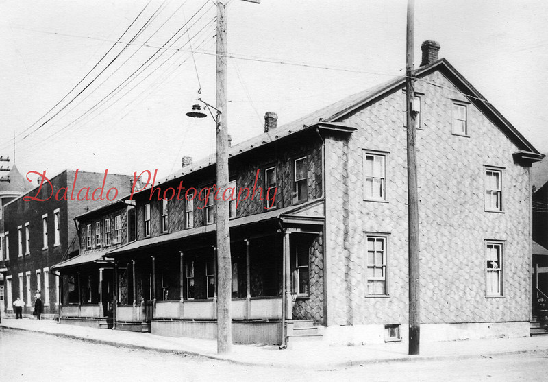 The Washington House is now in the left-portion of the photo. This would be the northwest corner of Third and Water streets. The buildings were demolished in October of 1984 to make way for a Turkey Hill.