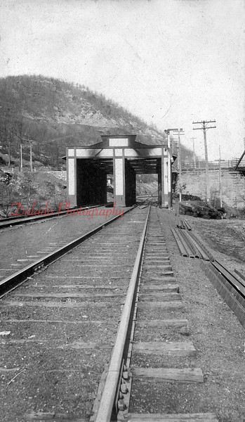 (02.21.1909) Unknown building near Cameron Bridge in 1909. The Covered Bridge appears to be gone in this photo.