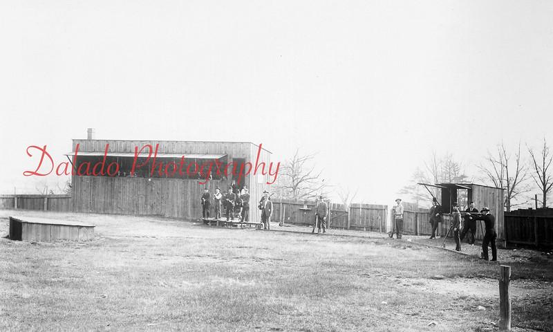 The Shamokin gun range, where the Bunker Hill Baseball Complex is now located.