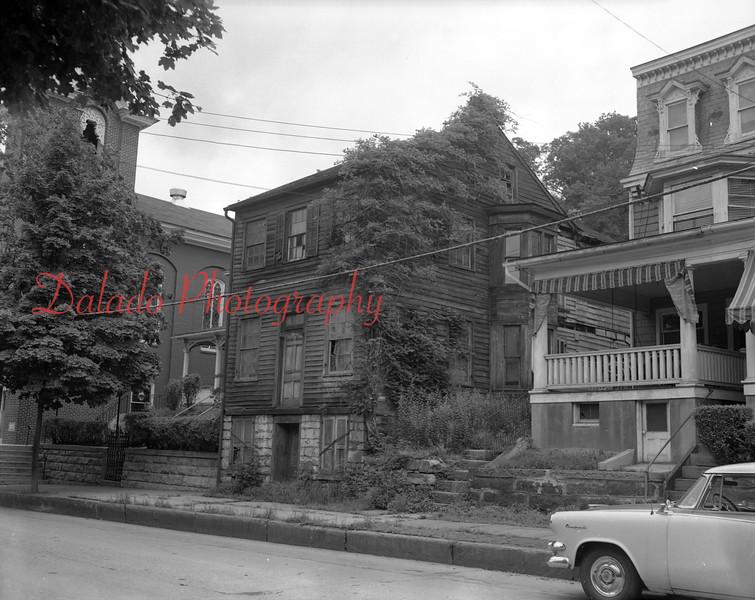 (1958) Sunbury Street near church.