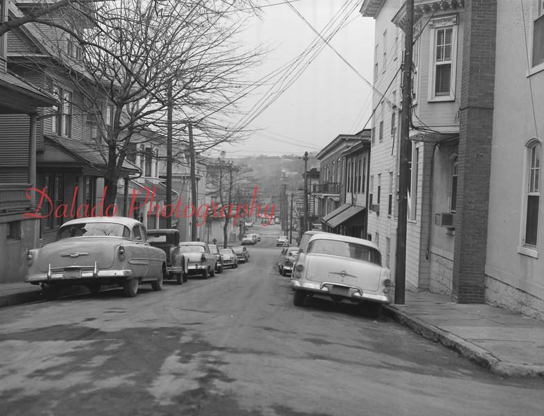 (Jan. 1957) Washington Street in Shamokin.
