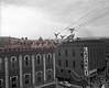 (12.20.1951) Christmas display over Independence Street, Shamokin.