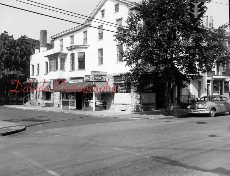 Brennans Cleaners- On the northwest corner of Shamokin and Spurzheim streets.