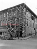 (1954) Work on a building at the corner of Sunbury and Shamokin streets.