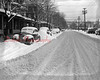 (Dec. 1951) Snow on Sixth Street in Shamokin.