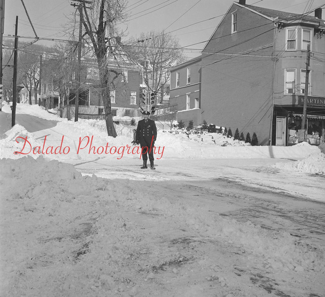 (Feb. 66) Traffic control at Shamokin and Sunbury streets.