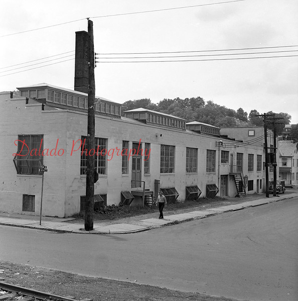 (1964) Anthracite Shirt Co. in the Fifth Ward of Shamokin.