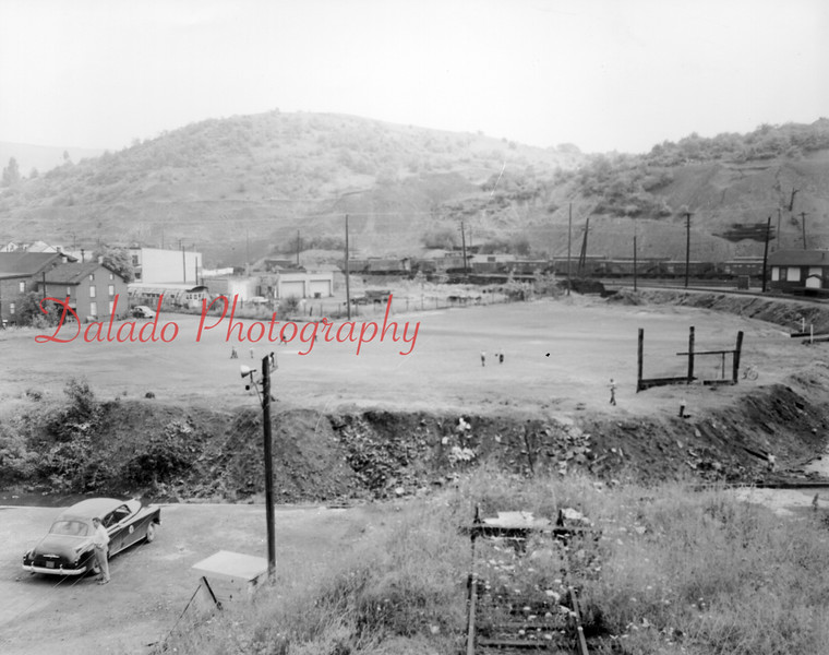 Shade Field- This field is still located at the end of the Fifth Ward. This photo is looking towards the east.