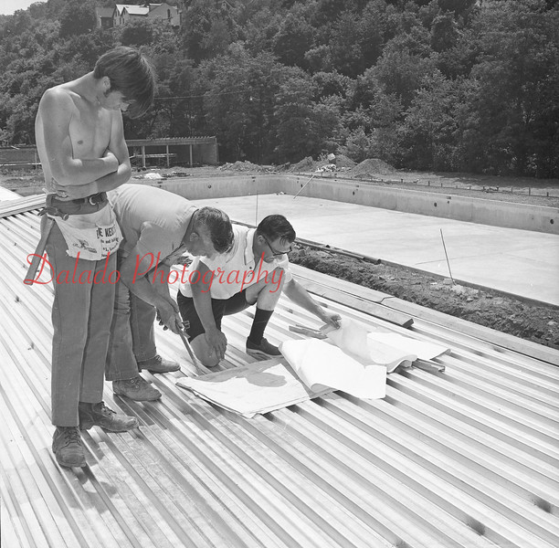 (06.29.71) Shamokin pool construction.