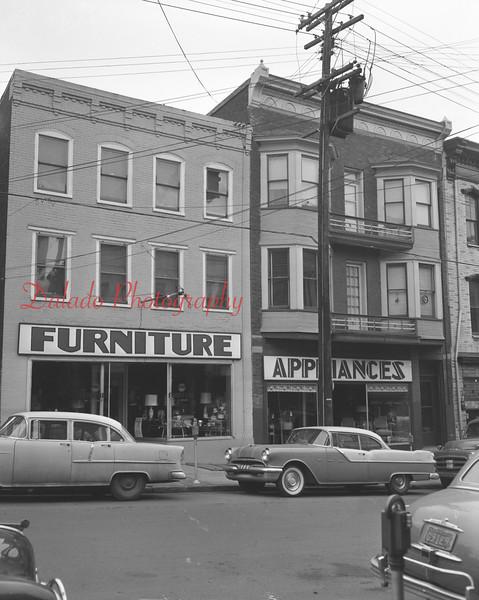 (Jan. 1957) Furniture Store along North Shamokin St.