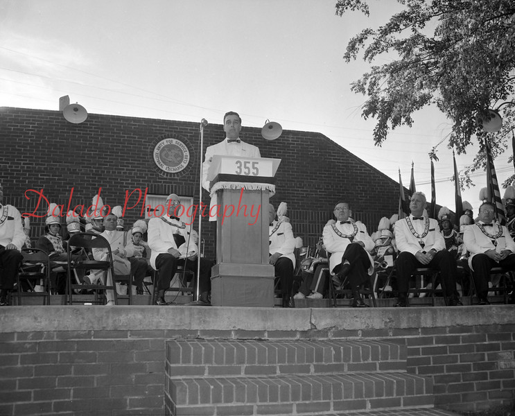 (June 1958) Elks Reading Reunion at what would be Claude Kehler Memorial Park.