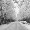 (1961) Shamokin Street in the snow.