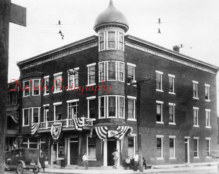 (1927) The Washington House- Located on the northeast corner of Second and Water streets. This is now the location of Turkey Hill. At the time, Sinibaldo Rovito was property owner. The building was demolished in October of 1984 to make way for a Turkey Hill.