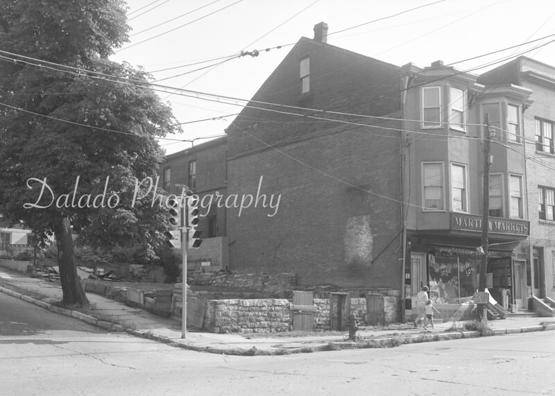 (Aug. 1962) Former Shoener property at Sunbury and Shamokin streets, donated to the city by Margaret Davis.
