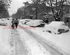 (11.12.53) Snow on Chestnut Street in Shamokin.