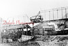 *Low Res* Cameron Bridge- This is a small reproduction photo of what I can assume was a print from a glass negative. It shows just the covered bridge and the trolley bridge. The Cameron Colliery is pictured in the background.