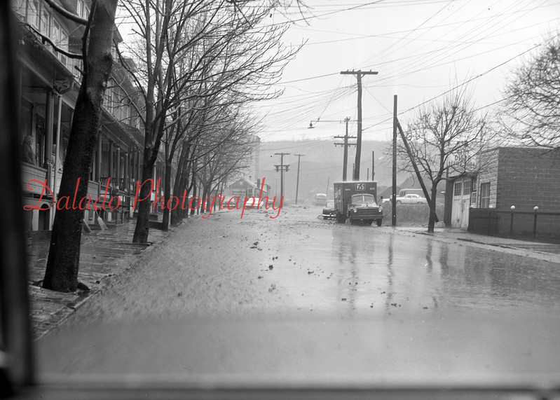 (1962) End of Shamokin Street.