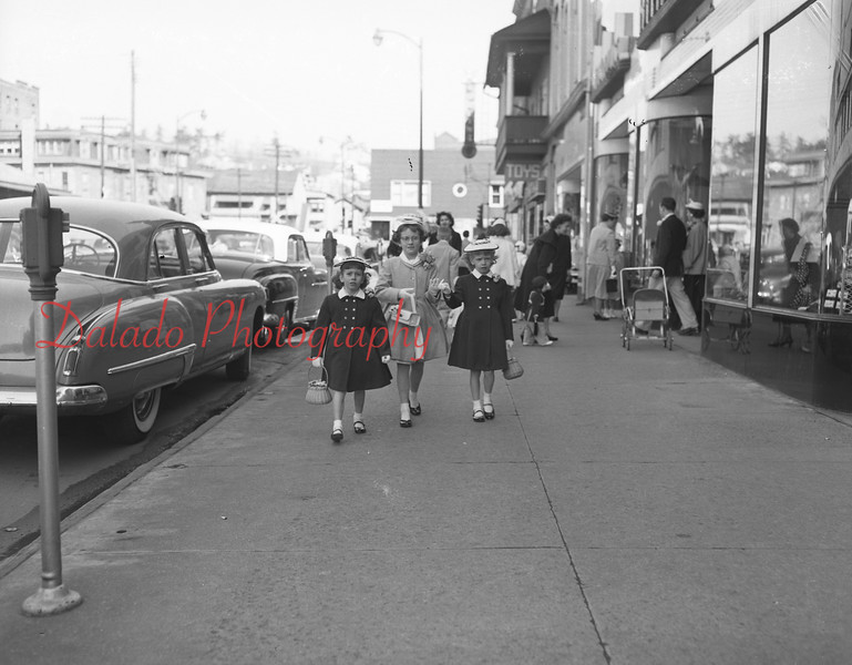 (04.05.56) Easter in Shamokin.