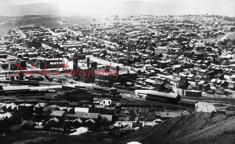 [Photo Right] Croninger Packing (Brest Packing) is now dead-center in the photo. Ferndale is at upper-right.