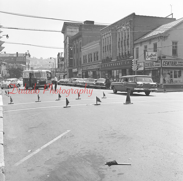 (1961) Independence and Eighth streets.