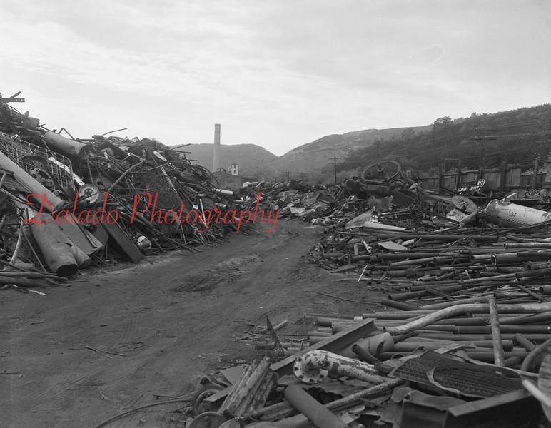 Shamokin scrap yard.