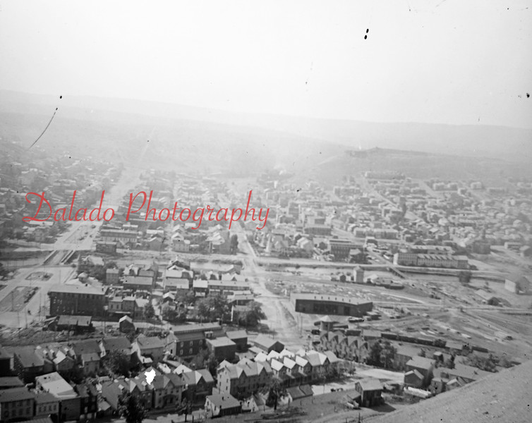 Shamokin from the Glen Burn Bank.