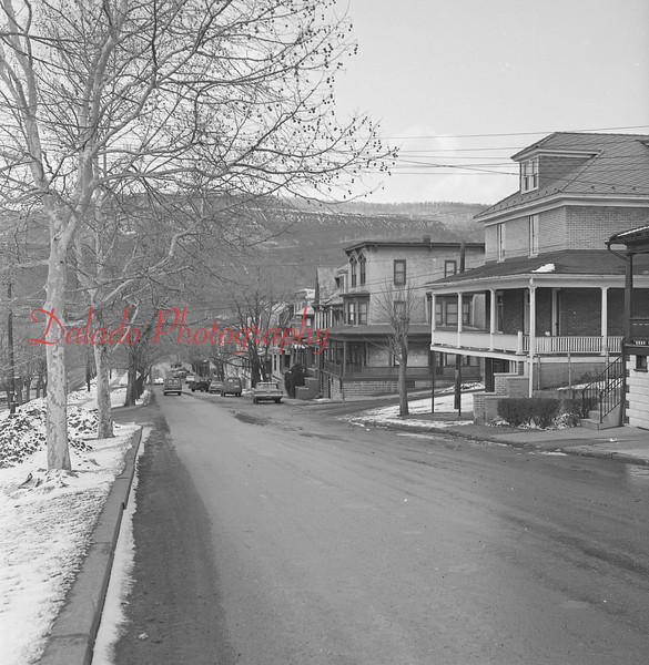 Market Street in Shamokin.