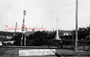 *Low-Res* A view of the Soldiers and Sailors Monument from Market Street. The old Eighth Street bridge, a double-arch stone design, is seen at bottom-left.