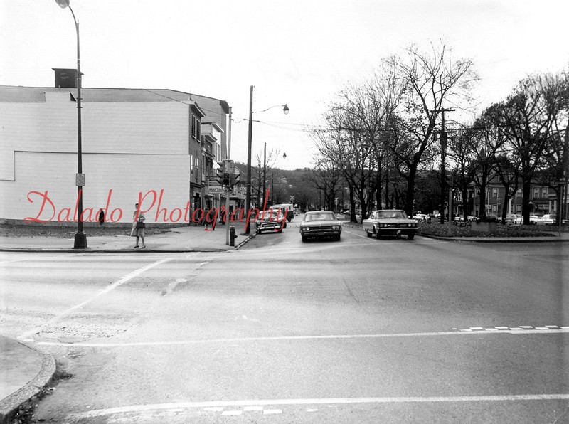 (1966) The Regal and Montgomery Ward buildings have now been torn down.