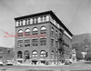 """Masonic Building, aka. the """"Fun Shop"""" building, on the northwest corner of Independence and Eighth streets. Businesses that were at this location include L.E. Knoebel Insurance, V.H. Peifer Accountant and Parkview Loan Service."""