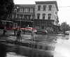 (June 1955) Market and Spruce streets.