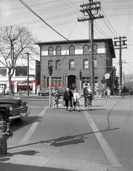 (1955) Market and Independence streets.