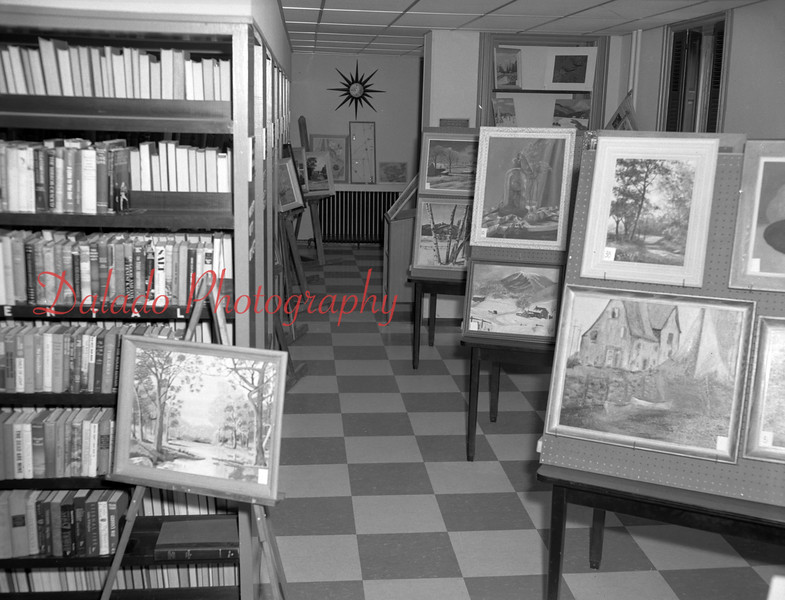 (1964) Library display.
