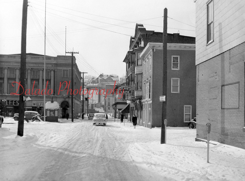 Farrow building along Liberty Street.