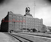 """J.H. & C.K. Eagle Silk Mill """"The Mill""""-  Opening in 1917, this building contained 500,000 square-foot of floor space; 4,808,500 cubic-foot of brick; and 16 miles of pipe for heating and sanitation purposes."""