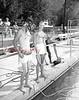 Dick Knoebel and Zen Yonkovig as lifeguards. (August 4, 1955)