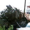 Truck rollover at Mid Valley Road and Route 61 in Atlas. A common site every couple of years.