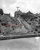 (07.26.1951) Steps leading from Oak Street to Water Street in Mount Carmel.