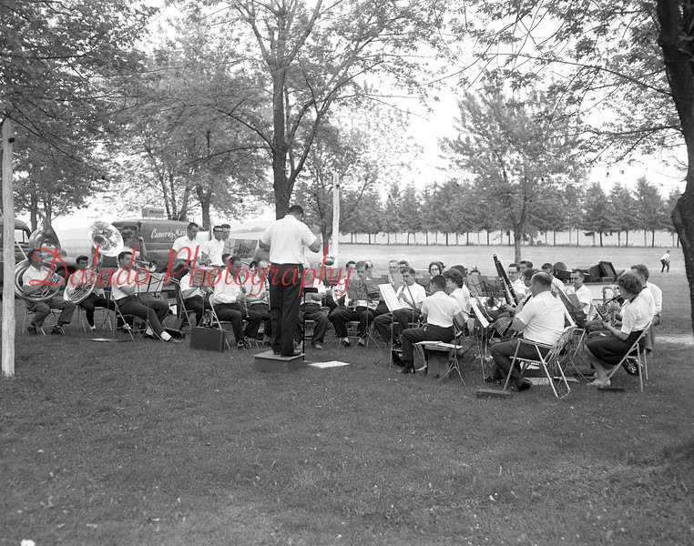 (06.07.1962) Our Band at an unknown location.