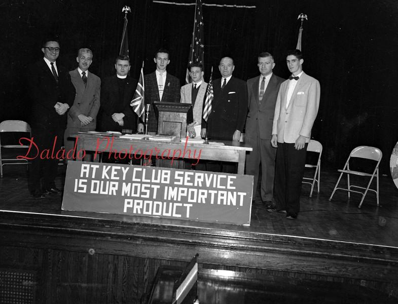 (01.13.1956) Key Club.