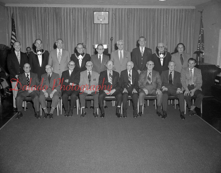 (1975 or 1976) Elks exalted rulers.