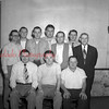 (06.05.1952) St. Francis Home Association officers on June 5, 1952. Pictured are, front row, from left, Leon Karpinski, Richard Bielesko and Edward Zaneski; second, Walter Klynoski, Stanley Yodzio, Albert Zaremba and Joseph Wisniewskio; third, Ralph Mushinski, Carl Bielski and Edward Bartlinski.