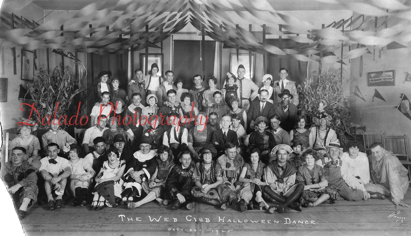 (10.26.1925) The Web Club Halloween Dance.