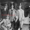 *Low-Res* (09.16.1910) Pictured during the Ancient Order of Hibernian Convention are, front row, from left, Robert Fobia, William Coyne; back, Leo Kelser, Jerrald Foley and George Plash.