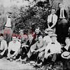 "*Low-Res* I don't know anything about the ""Web Club,"" but here are some members hiking their way to Tim O'Leary's Hotel in Gowen City. Seated are Herb Lawrence, left, Arthur Geist, Frank Gottshall, Thomas Foltz, Harry Kline, Daniel Reed, Abe Dreher, Bill Kline and Frank Leiby; standing, Frank Zimmerman, Harold Rehrer, Hayden Evans and Pete Lytle."